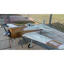 CY Model F8F Bearcat (CY8032) white/gold scheme 2m46 ARF