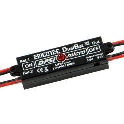 DPSI Micro DualBat 5.9V/7.2V MPX-1xMPX