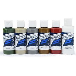 Proline RC Body Peinture Military (Green/Sand/Grey/Earth/Mars/Clear)