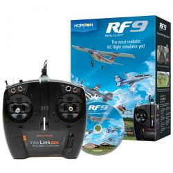 RF9 Flight Simulator with Spektrum Controller