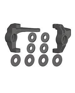 Team Corally - Steering Block - L/R - Composite - 1 Set