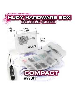 Hudy Plastic Box, double sided - compact  H298011