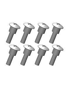 Team Corally - Shoulder Screws - Steel - 8 pcs
