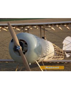 Fiberglass Cowl for 1:3 scale Nieuport 28
