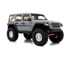 1/10 SCX10 III Jeep JLU Wrangler with Portals RTR, Gray (AXI03003T1)