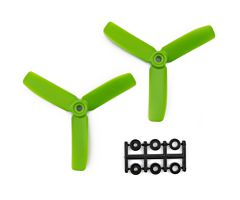 4x4 Bullnose style 3blade green (2 pair CW/CCW)